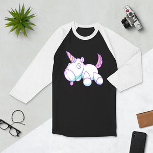 Good Unicorn - 3/4 sleeve raglan shirt