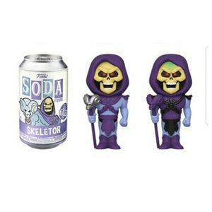 Funko Pop! Vinyl Soda: Masters of the Universe - Skeletor w/ Chance of Chase LE: 10000 PCS