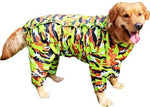 Camo Raincoat For Dogs - 2 Colors
