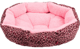 Leopard Print Bed - For Small Dogs - 6 Colors