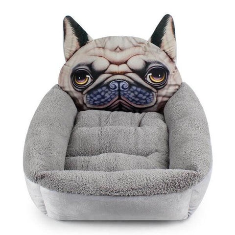 Dog Head Dog Bed - For Small/Medium Dogs - 3 Designs