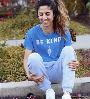 Be Kind Shirt by Thoraya Maronesy