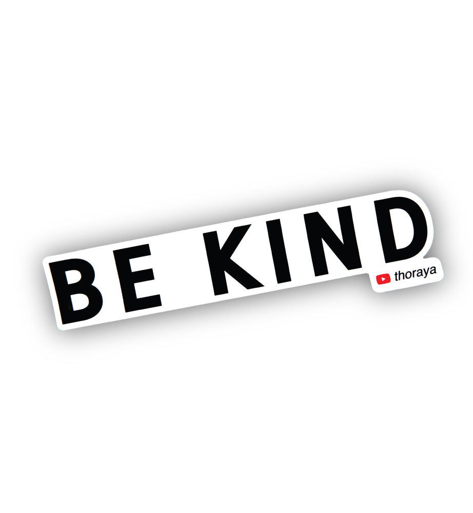 Be Kind Sticker from Thoraya Maronesy