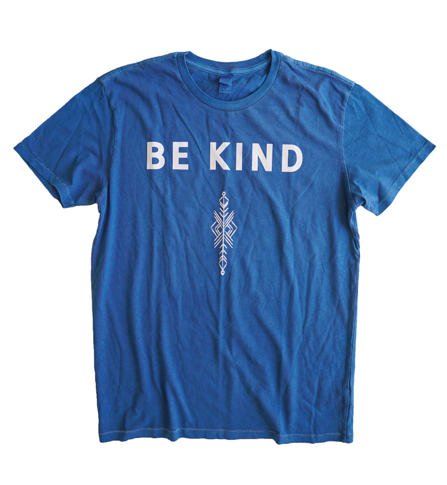 "Blue ""Be Kind"" Tee"