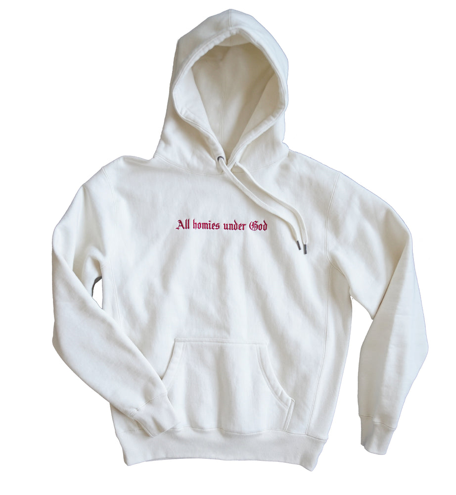 All Homies Under God Hoodie