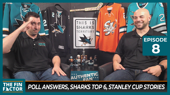 Episode 8: Poll Answers, Sharks Top 6, Stanley Cup Stories