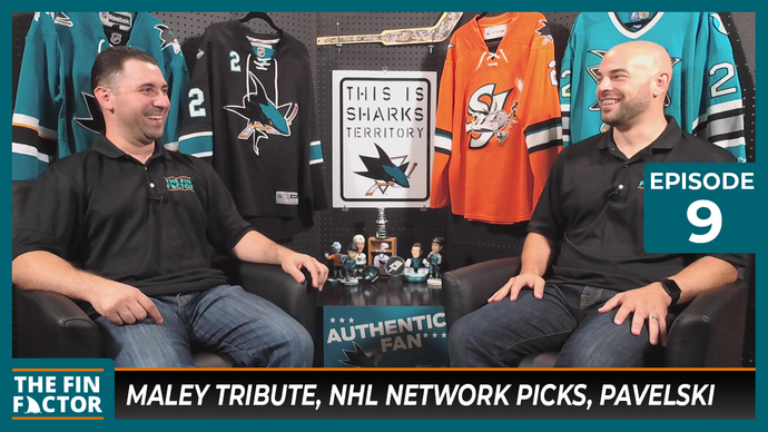 Episode 9: Maley Tribute, NHL Network Picks, Pavelski