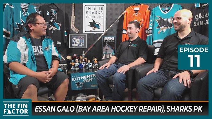 Episode 11 with Essan Galo: Bay Area Hockey Repair, Sharks Penalty Kills