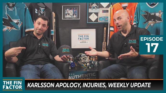 Episode 17: Karlsson Apology, Injuries, Weekly Update