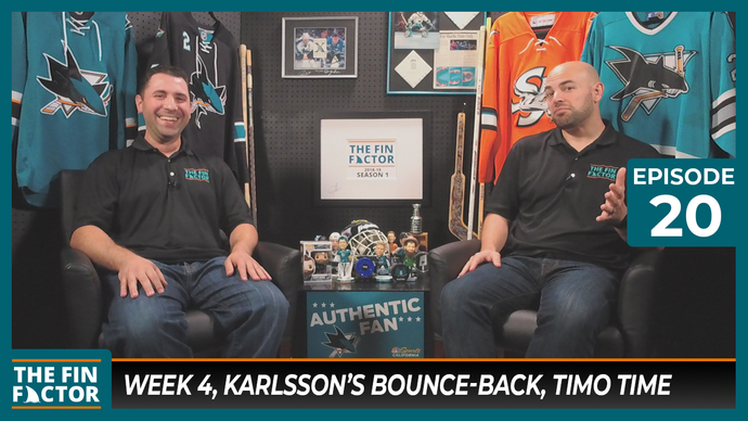 Episode 20: Week 4, Karlsson's Bounce-back, Timo Time