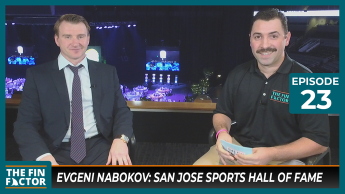 Episode 23 with Evgeni Nabokov: San Jose Sports Hall of Fame