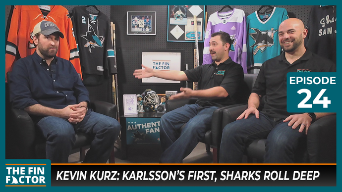 Episode 24: Kevin Kurz: Karlsson's First, Sharks Roll Deep