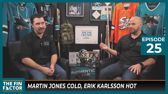Episode 25: Martin Jones Cold, Erik Karlsson Hot