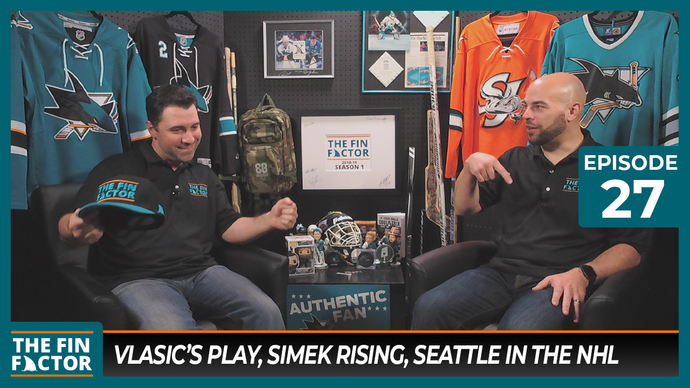 Episode 27: Vlasic's Play, Simek Rising, Seattle in the NHL