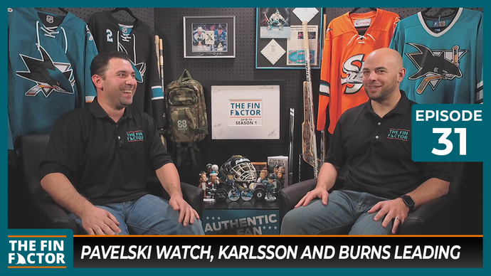 Episode 31: Pavelski Watch, Karlsson and Burns Leading