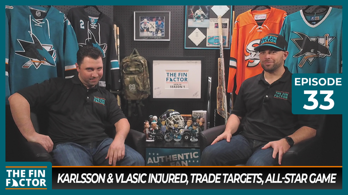Episode 33: Karlsson & Vlasic Injured, Trade Targets, All-Star Game