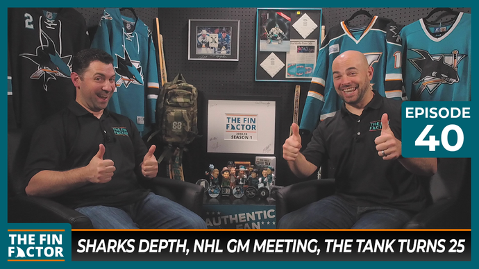 Episode 40: Sharks Depth, NHL GM Meeting, The Tank Turns 25