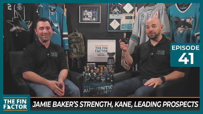 Episode 41: Jamie Baker's Strength, Evander Kane, Leading Prospects