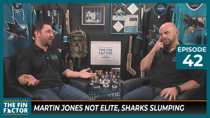 Episode 42: Martin Jones Not Elite, Sharks Slumping