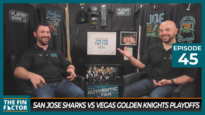 Episode 45: San Jose Sharks vs Vegas Golden Knights Playoffs