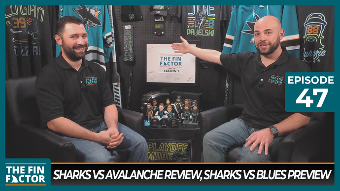 Episode 47: Sharks vs Avalanche Review, Sharks vs Blues Preview