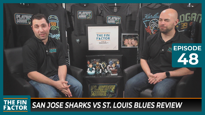Episode 48: San Jose Sharks vs St. Louis Blues Review