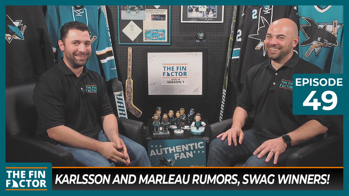 Episode 49: Karlsson and Marleau Rumors, Swag Winners!