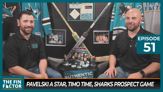 Episode 51: Pavelski a Star, Timo Time, Sharks Prospect Game