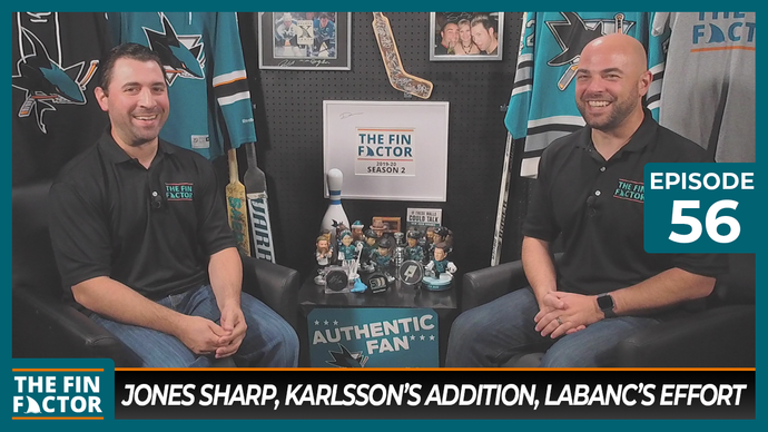 Episode 56: Jones Sharp, Karlsson's Addition, Labanc's Effort