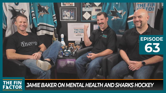 Episode 63: Jamie Baker on Mental Health and Sharks Hockey