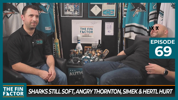 Episode 69: Sharks Still Soft, Angry Thornton, Simek & Hertl Hurt