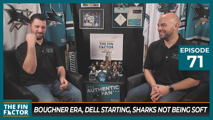 Episode 71: Boughner Era, Dell Starting, Sharks Not Being Soft