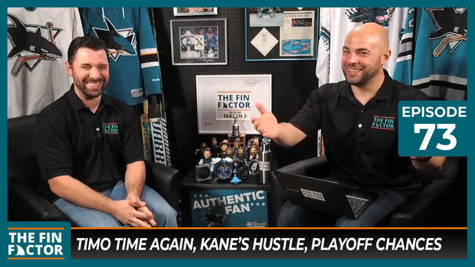 Episode 73: Timo Time Again, Kane's Hustle, Playoff Chances