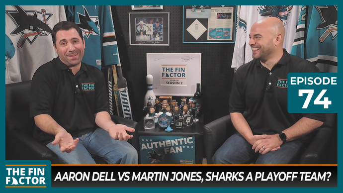 Episode 74: Aaron Dell vs Martin Jones, Sharks a Playoff Team?