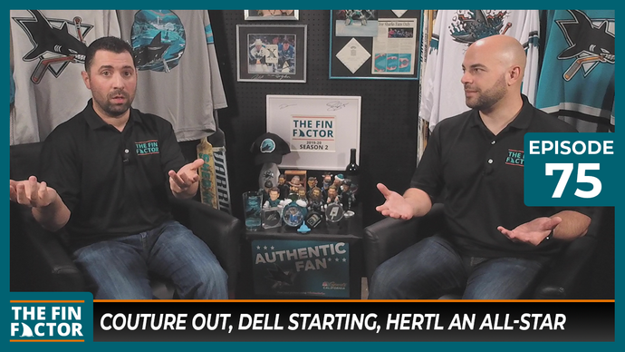 Episode 75: Couture Out, Dell Starting, Hertl an All-Star