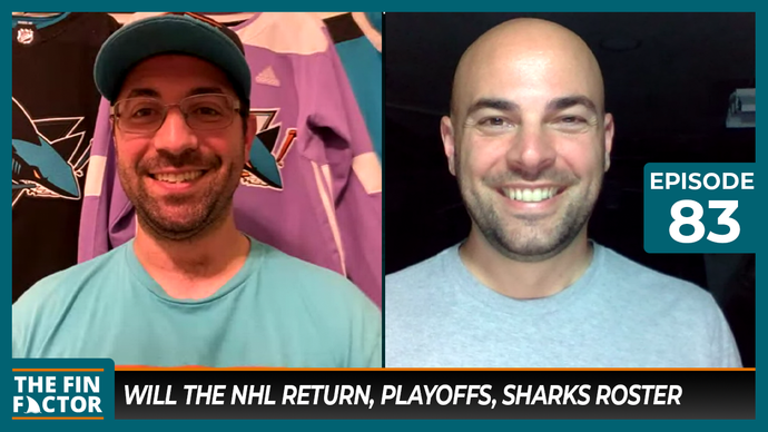 Episode 83: Will the NHL Return, Playoffs, Sharks Roster