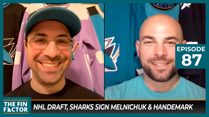 Episode 87: NHL Draft, Sharks Sign Melnichuk & Handemark