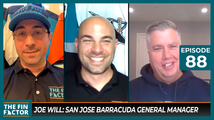 Episode 88: Joe Will, San Jose Barracuda General Manager