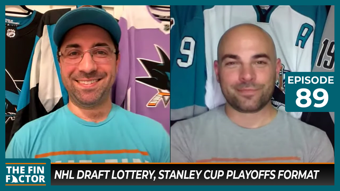 Episode 89: NHL Draft Lottery, Stanley Cup Playoffs Format