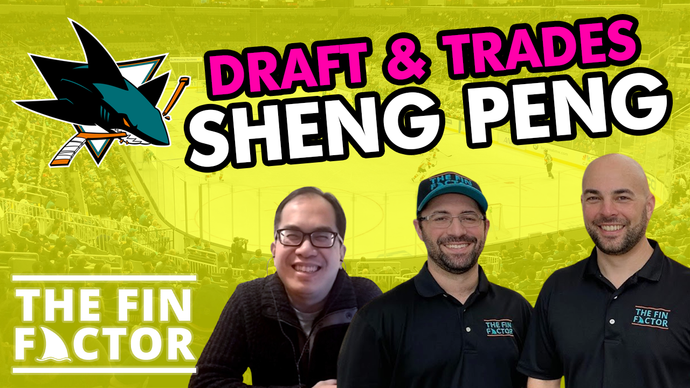 Episode 93: San Jose Sharks draft & trades with Sheng Peng