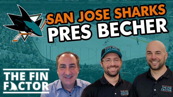 Episode 95: San Jose Sharks President Jonathan Becher