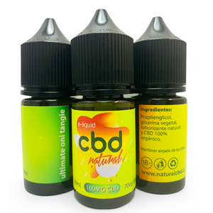 E-liquid con CBD - 30ml Natural
