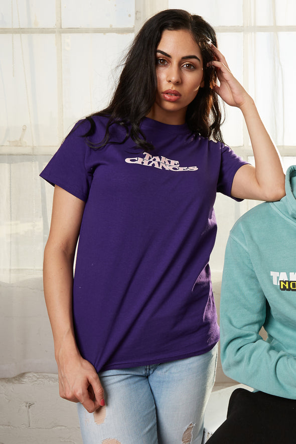 Colby Brock: Take Chances Motion Purple Tee