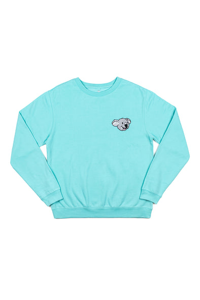 Colby Brock: Koala Bear Mint Crewneck