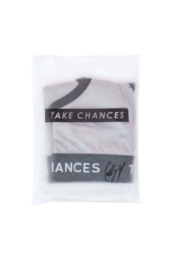 COLBY BROCK: SUMMER EDITION WOMEN'S TAKE CHANCES SPORTS BRA