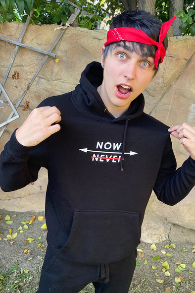 Colby Brock Classic Now Or Never Hoodie