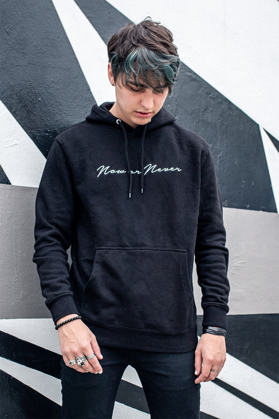 Colby Brock: Now or Never Script Hoodie