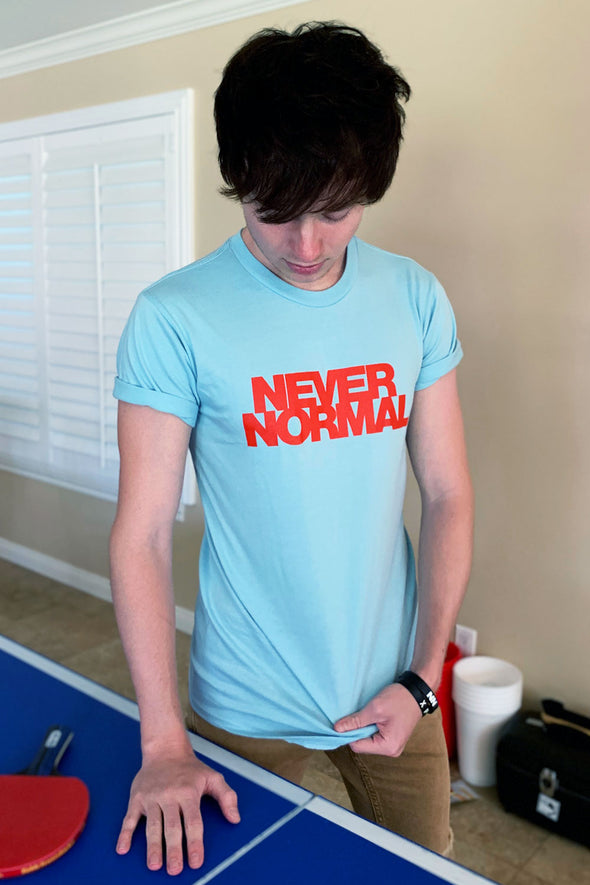 Sam Golbach Blue Never Normal Tee