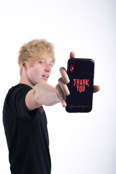 Sam Golbach: Thank You Black Phone Case