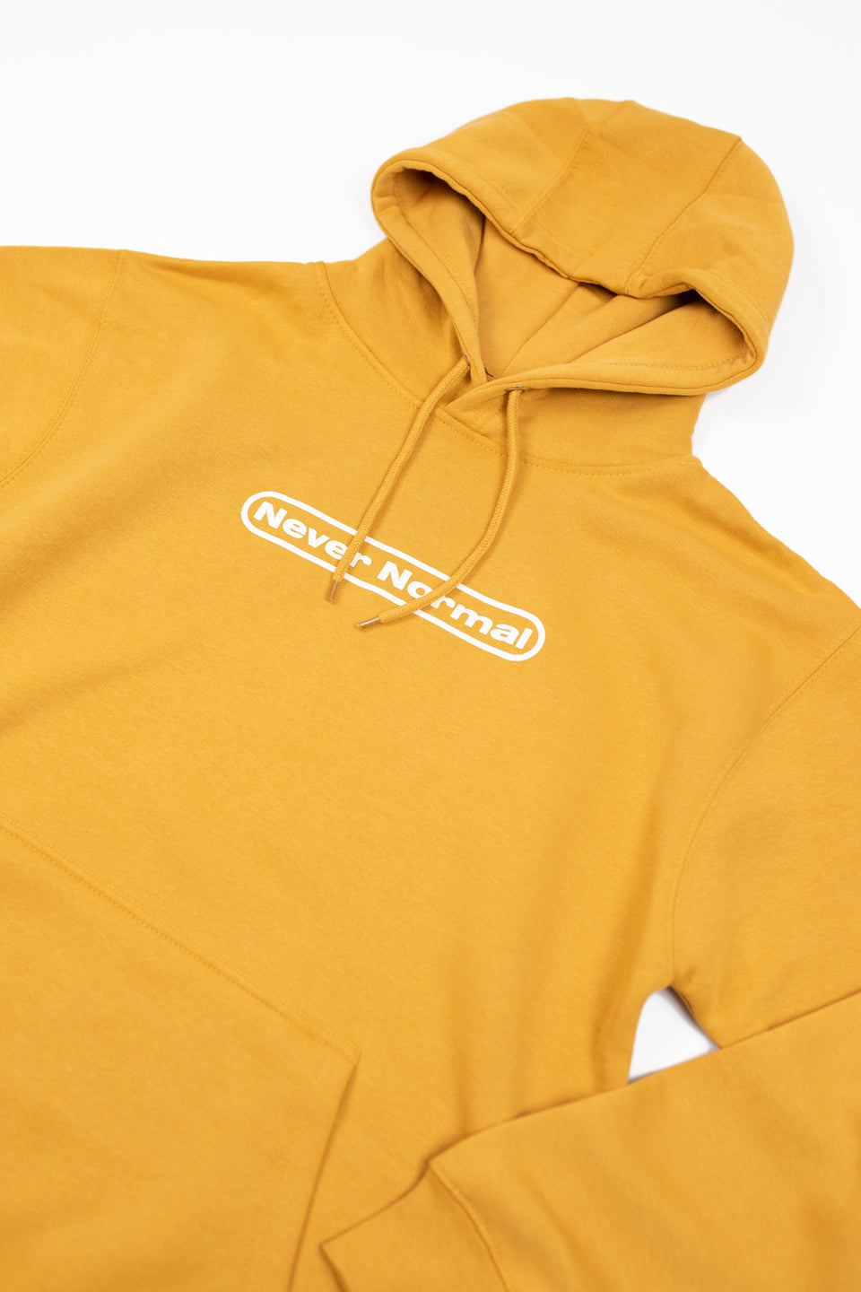 Sam Golbach: Never Normal Signature Mustard Hoodie